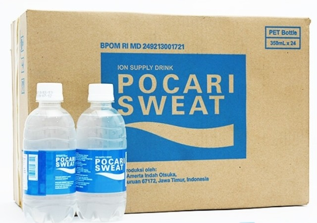 Pocari Sweat Isotonic Drink 350ml x 24 btls