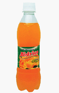 Bidrico Carbonated Oranges flavor 400ml x 24btls
