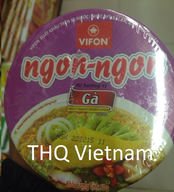 Vifon Ngon Ngon Instant Noodle Chicken Flavour 60g (cup)