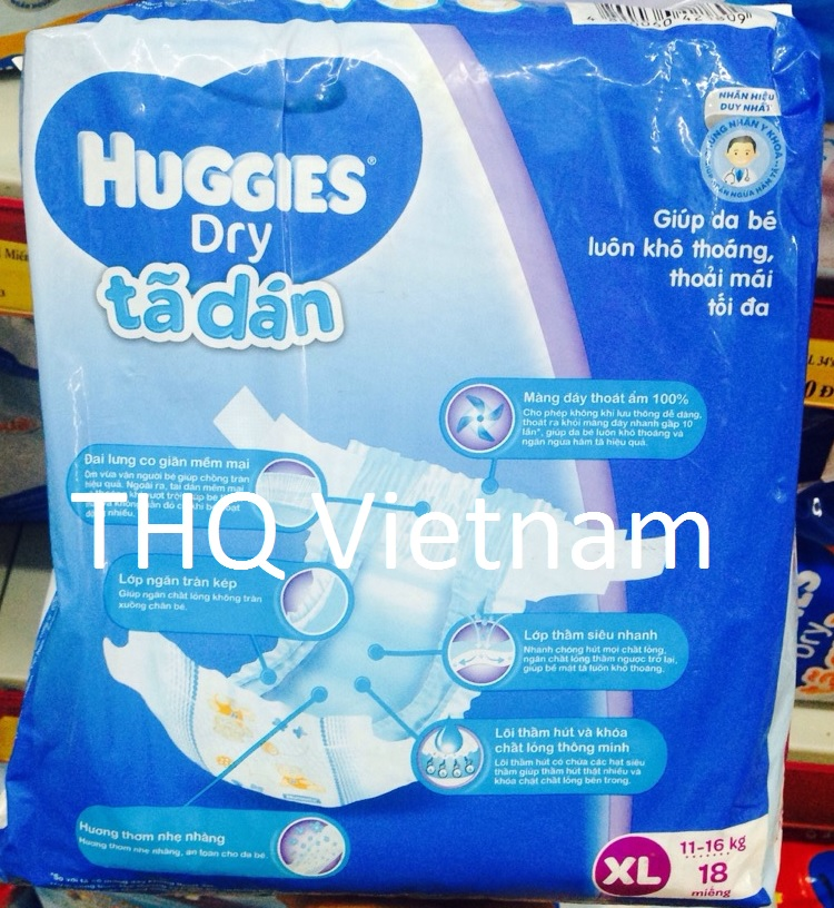 Huggies Dry Pants XL 18 pcs x 8packs