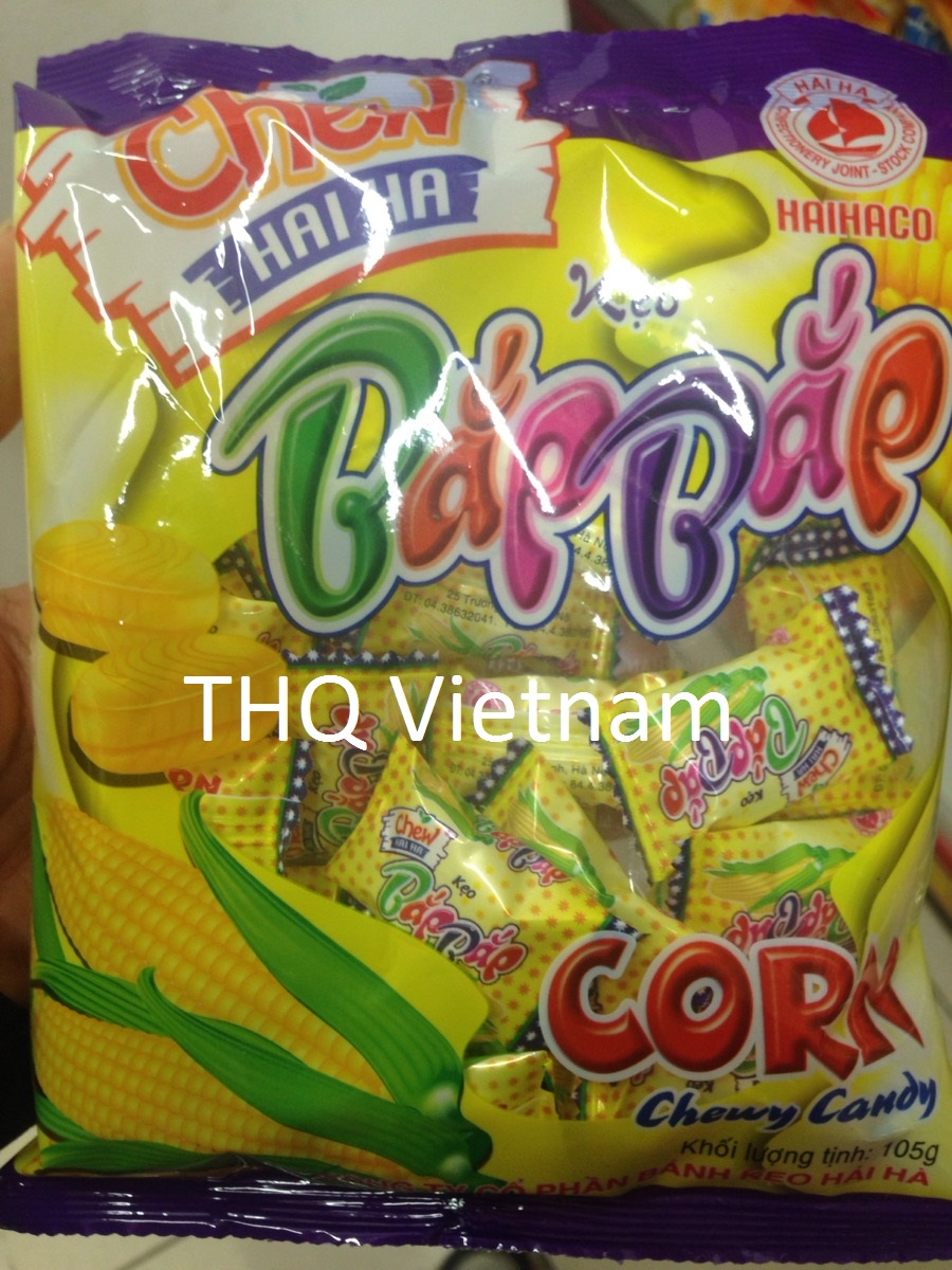 CORN CHEWY CANDY 32PCS/PACK