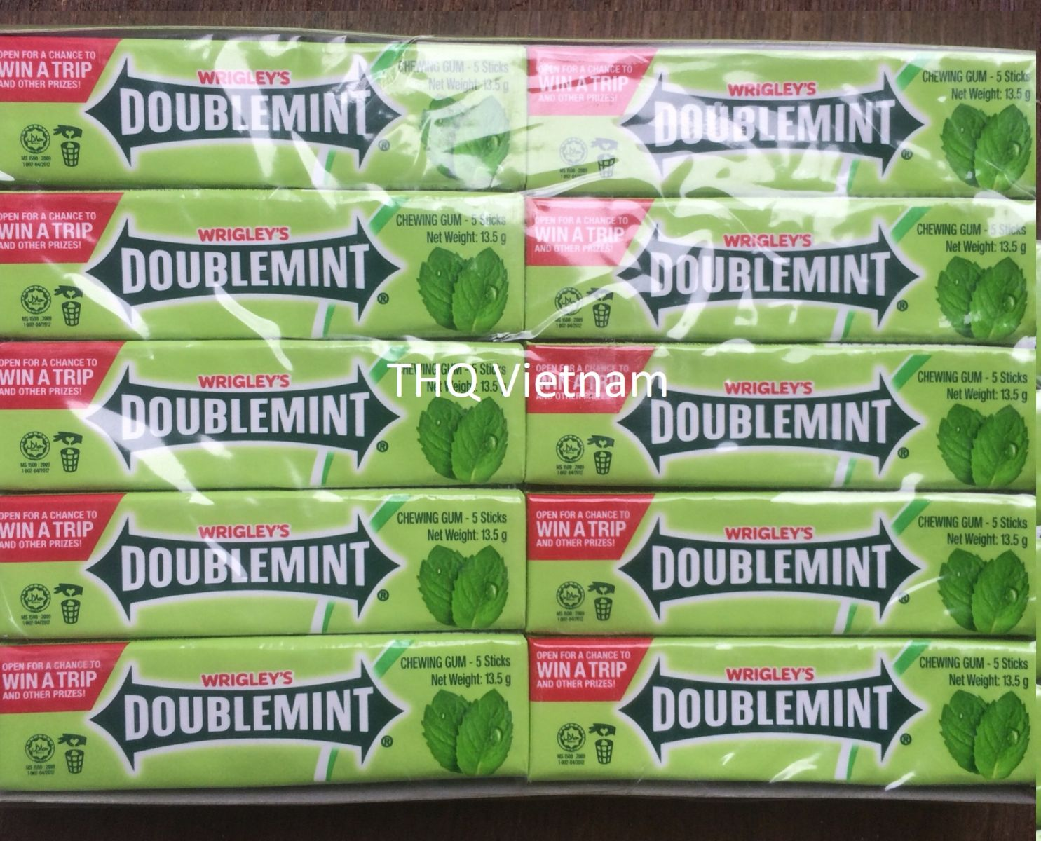 Wrigley's Doublemint Chewing Gum 13.5gr