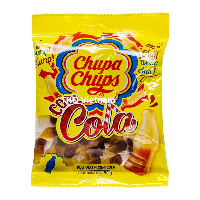 Chupa Chups Cola jelly candy 90 gram