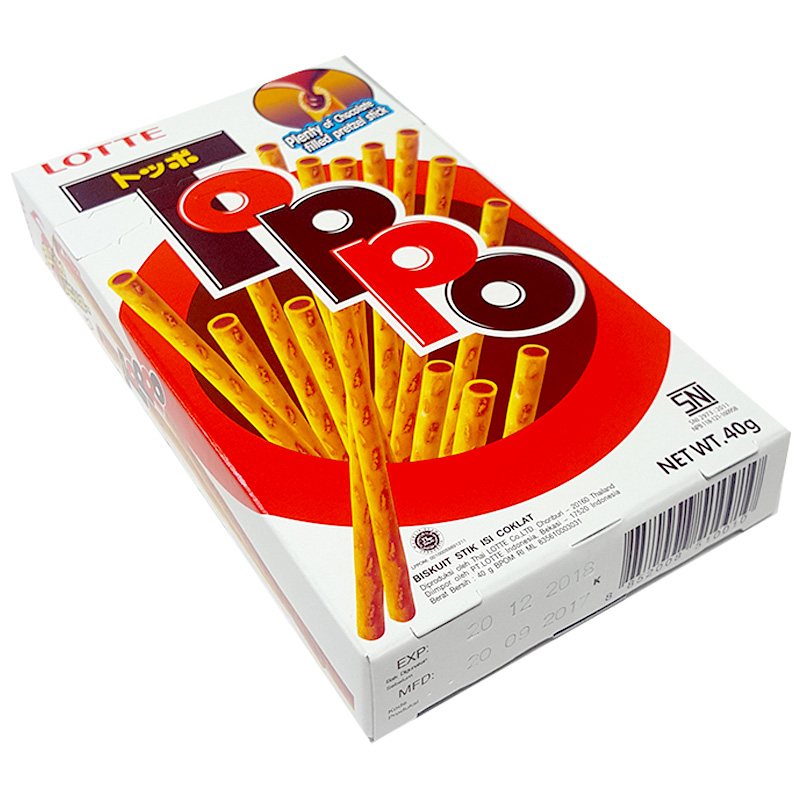 Lotte Toppo chocolate stick 40 gram