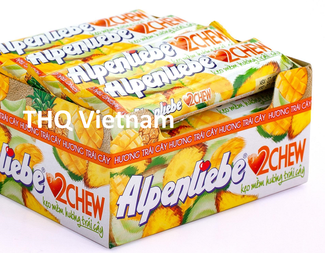 Alpenliebe 2 Chew Soft Fruit Candy16 rolls x 24 boxes
