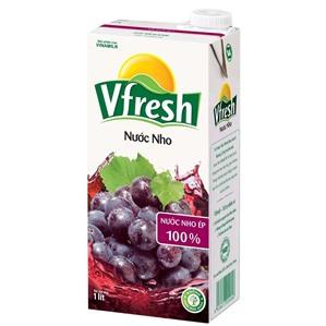 Vfresh gapre juice 12 btls x 1l