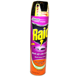 Raid Multi Insect Killer Lavender 300ml x 12btls
