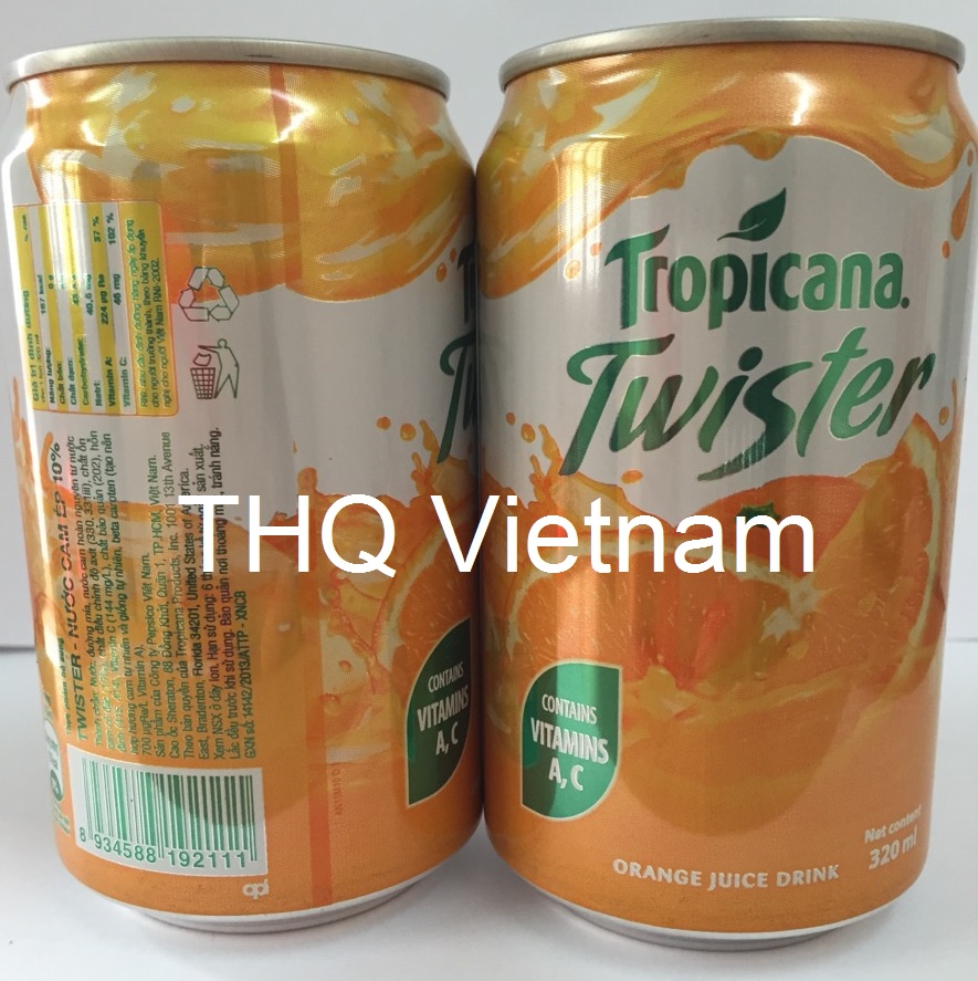 Twister orange 320ml in can