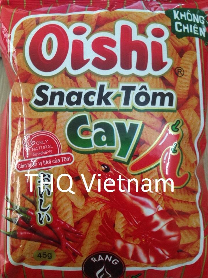 Oishi snack shrimp flavor 45gr