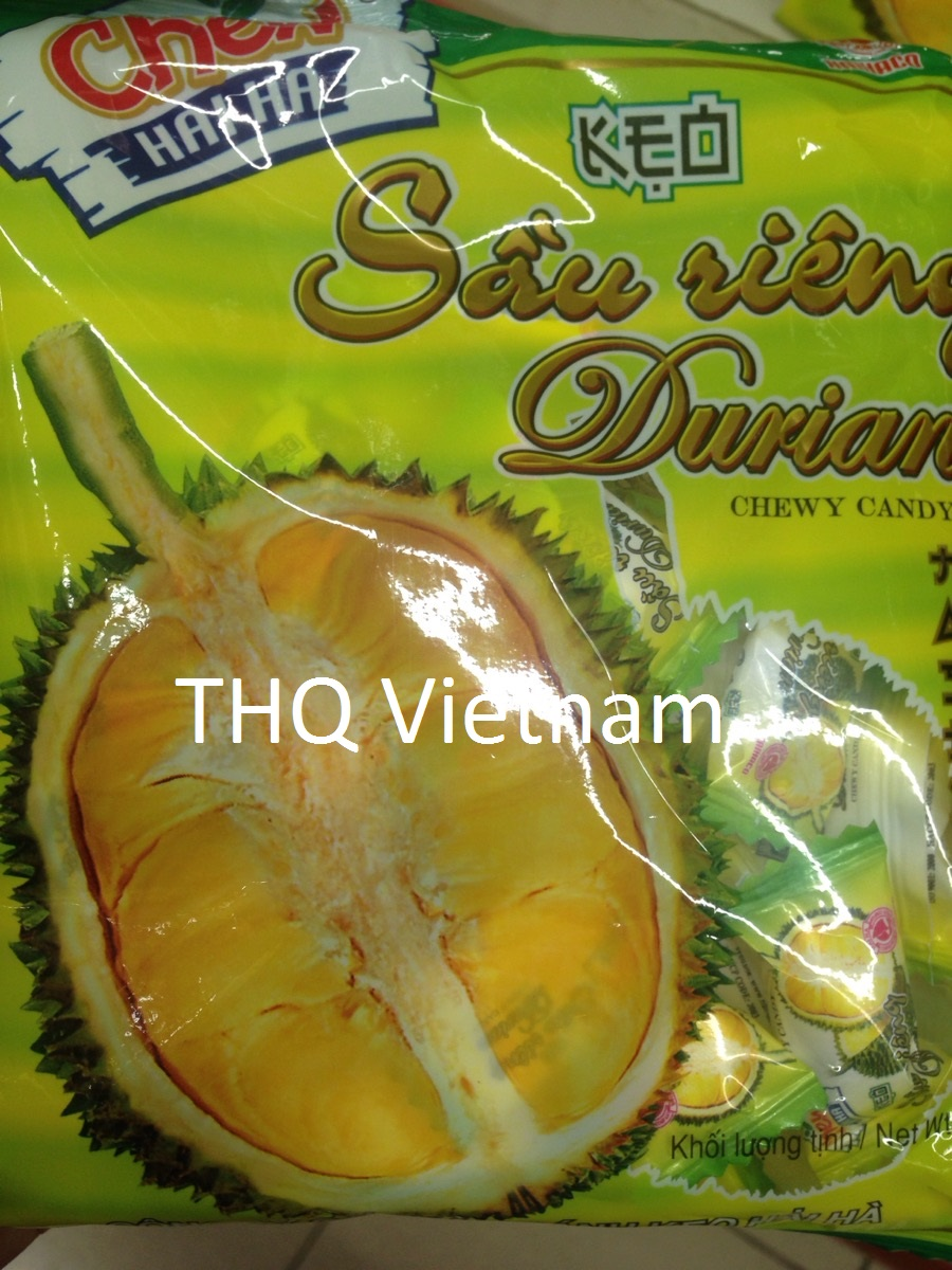 DURIAN CHEWY CANDY 32PCS/PACKS