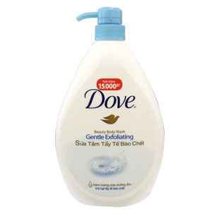 Dove Shower Gel Gentle Exfollating 530gr x 12btls