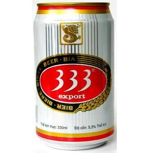 333 beer in can 330ml
