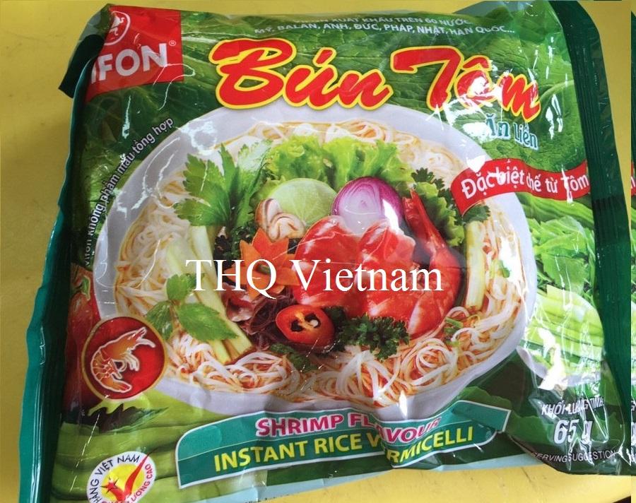 Vifon Instant Rice Vermicelli Shrimp Flavor 65gr
