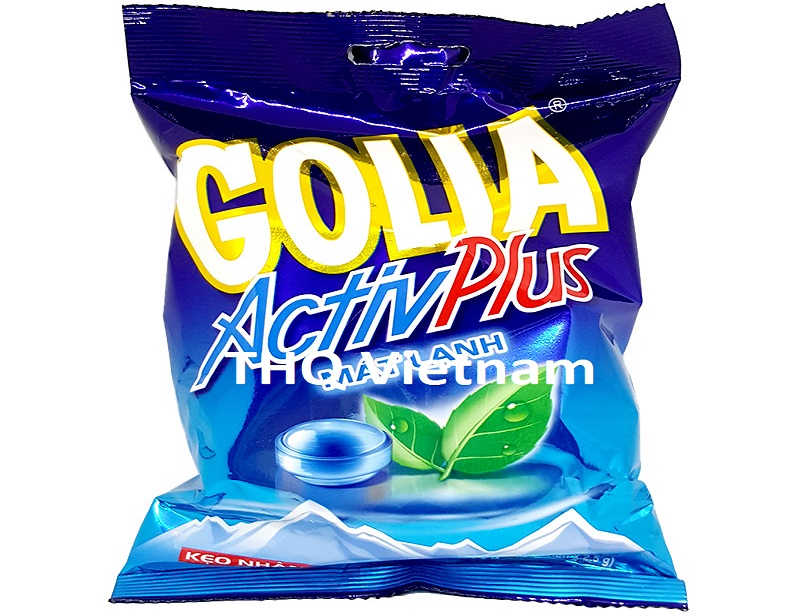 Golia active plus candy mint flavor bag