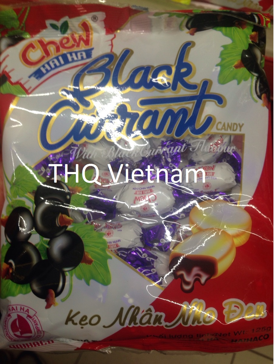 BLACK CURRANT CHEWY CANDY 32PCS/PACK