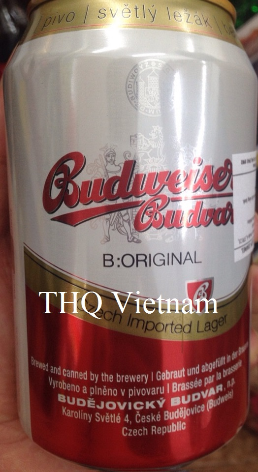 Budweiser beer 330ml x 24 cans