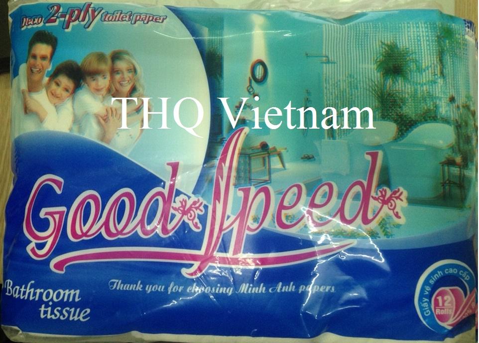 Vietnam toilet paper 12 rolls