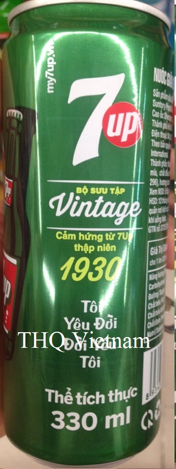 7 Up 330ml x 24ml in Slim Can