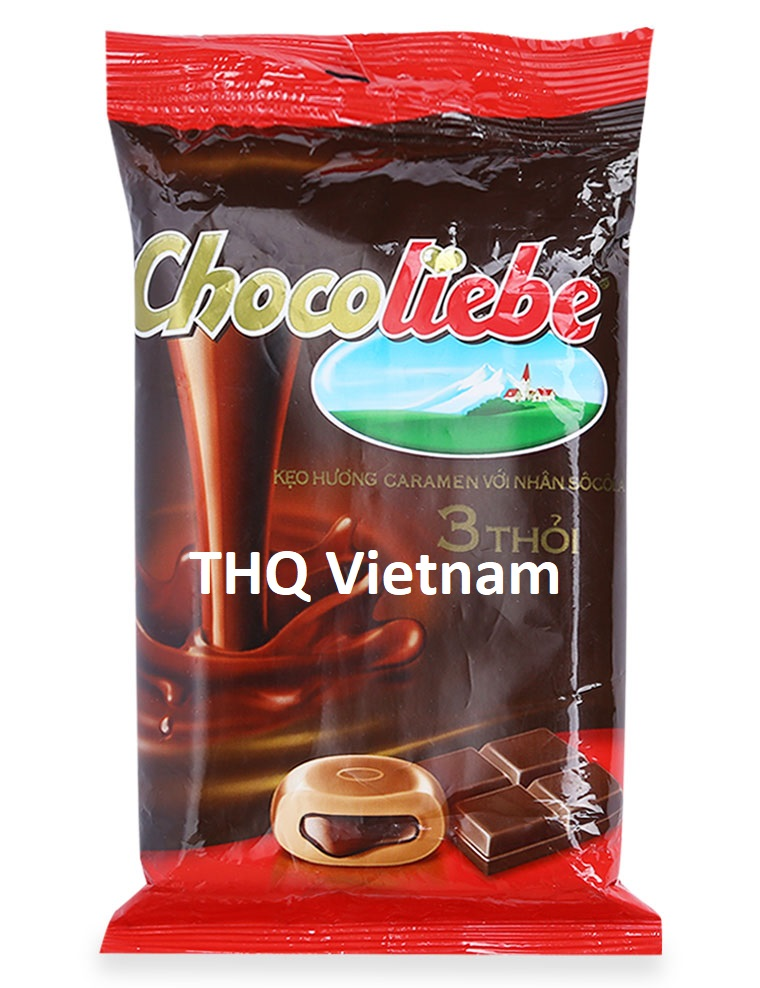 Alpenliebe chocolcate candy from Vietnam