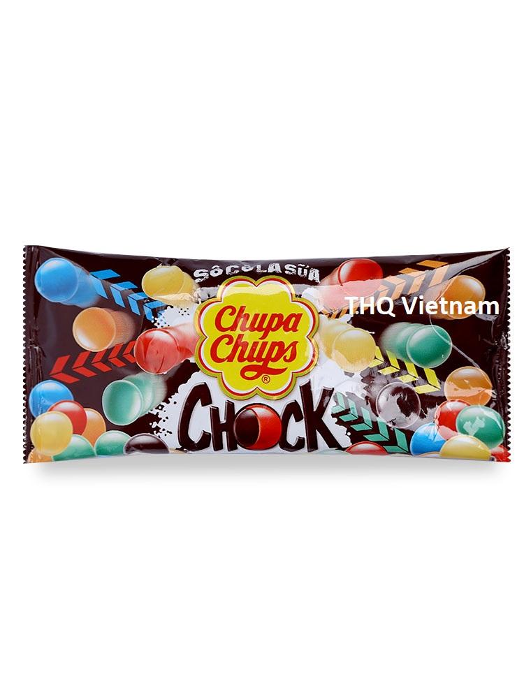 Chupa Chups Chock Chocolate milk candy  40 gram