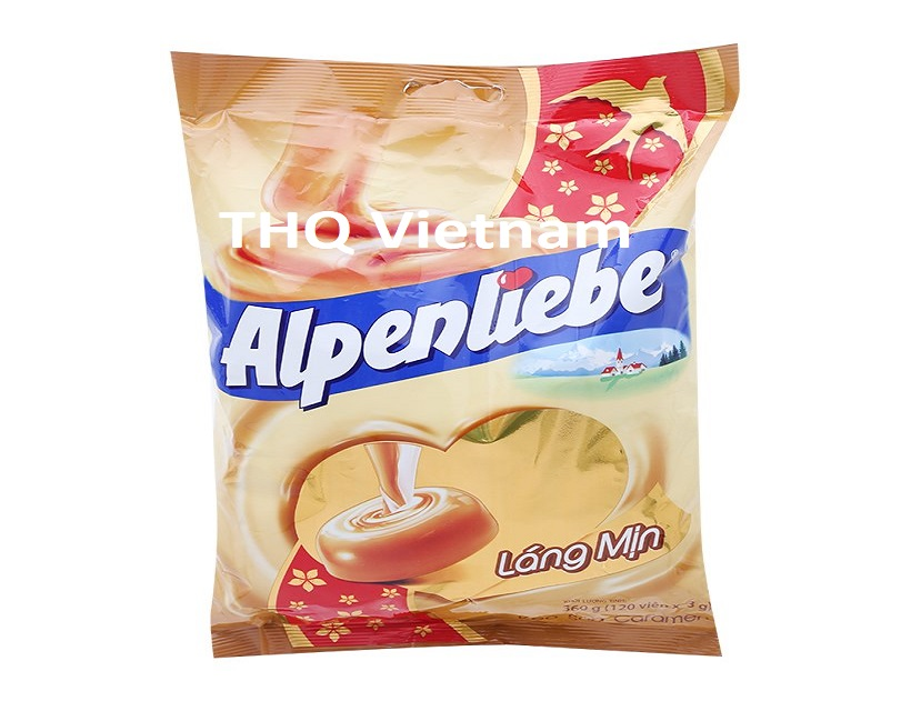 Alpenliebe rich milky caramel toffee candy 120 gram