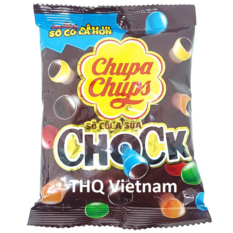 Chupa Chups Chock Chocolate milk candy 100 gram
