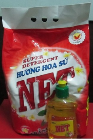 Net Porcelain Flower Detergent Powder 2,4kg