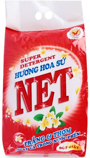 Net Porcelain Flower Detergent Powder 3,8kg