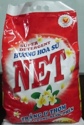 Net Porcelain Flower Detergent Powder 6kg