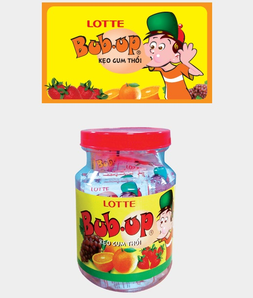 Lotte Bub Up  Fruit-Jar Chewing Gum 3.5g