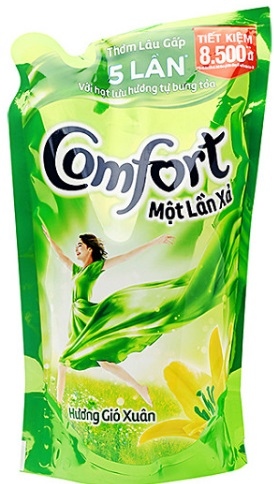 Comfort Concentrate One Time Spring Flavor 800ml - Bags