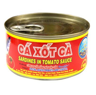 Sardine can in tomato sauce 185gr