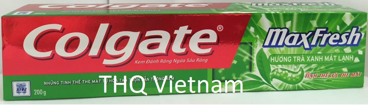 Colgate Maxfresh Green tea ice 200gr