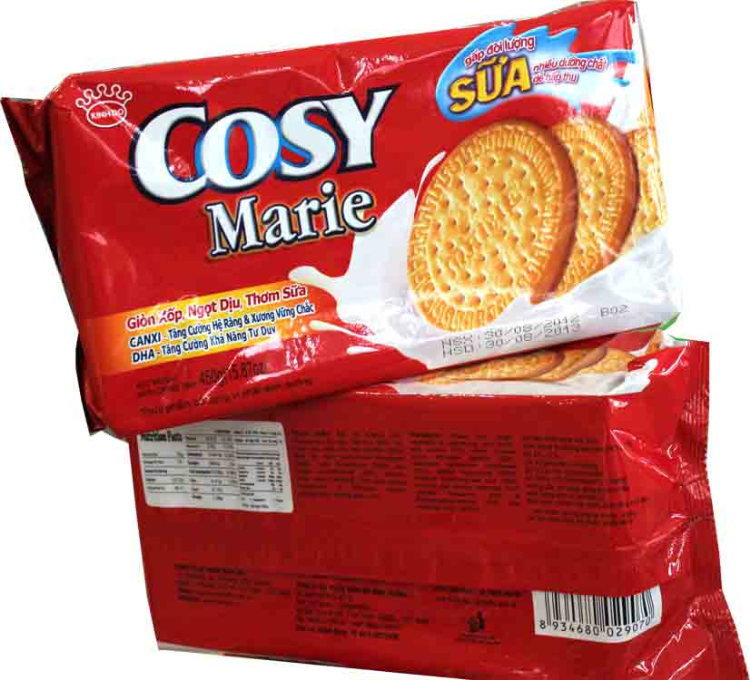 Cossy Biscuit 450gr