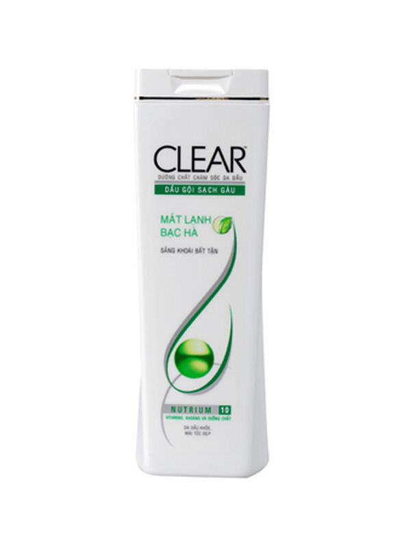 Clear shampoo mint origin Vietnam