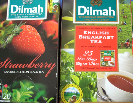 Dihmal black tea 25 bags x 12 boxes
