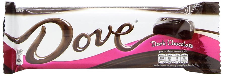 Chocolate Candy DOVE Dark 43gr