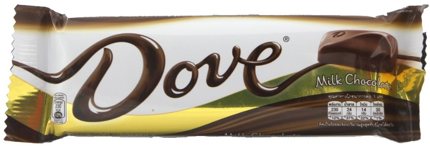 Chocolate Candy DOVE Milk 43gr