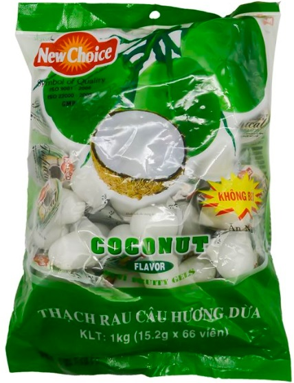 Jelly New Choice Coconut Flavour 1kg