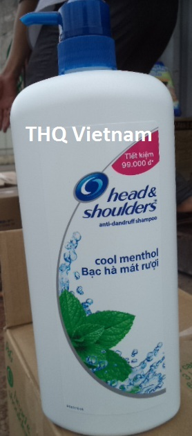 Head & Shoulder Cool Menthol shampoo 950gr x 6 btls