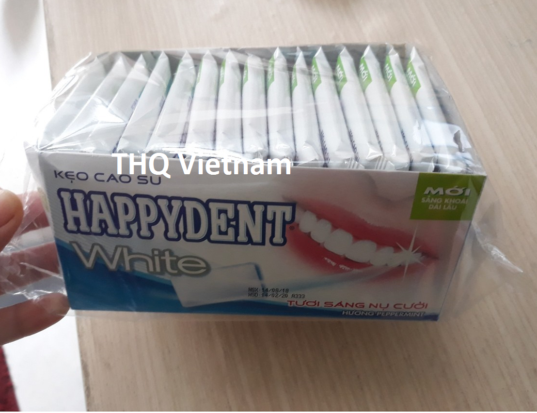 Happydent White chewing gum 15 blisters x 20 boxes