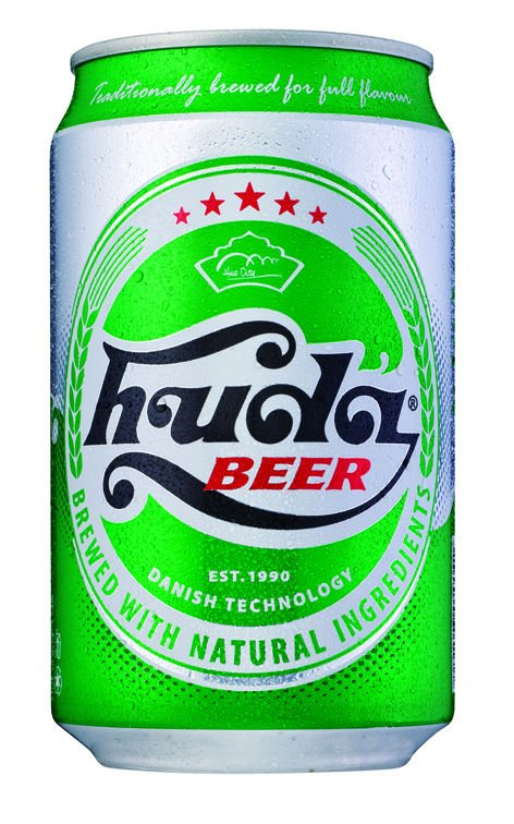 Huda beer 330ml in can