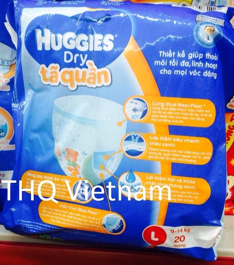 Huggies Dry Pants L 20 pcs x 8 packs