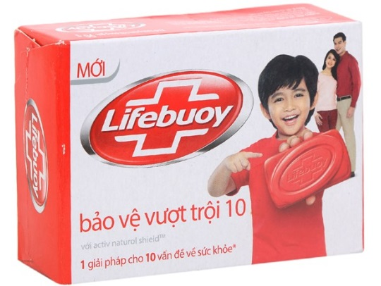 Lifebuoy HandWashing Activ Natural Shield 125gr x 72 Soap