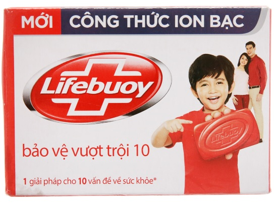 Lifebuoy Soap Activ Natural Shield 90gr x 72 Soap