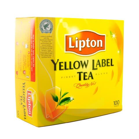 Lipton Yellow Label Tea Bags - 36 x 100 x 2 g
