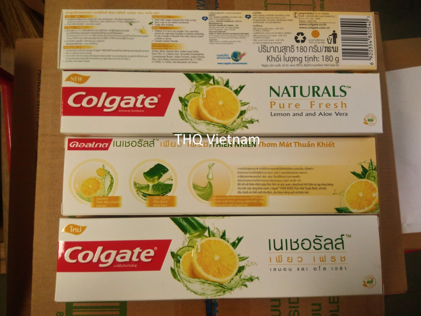 Colgate Natural Lemon & Aloe 180gr
