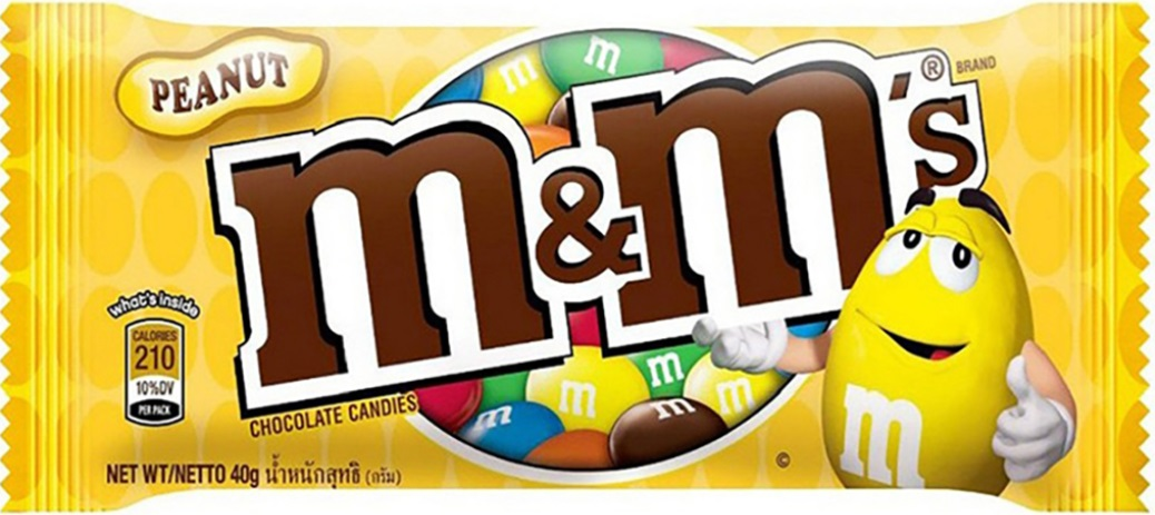Chocolate Candy M&M Peanut 40g