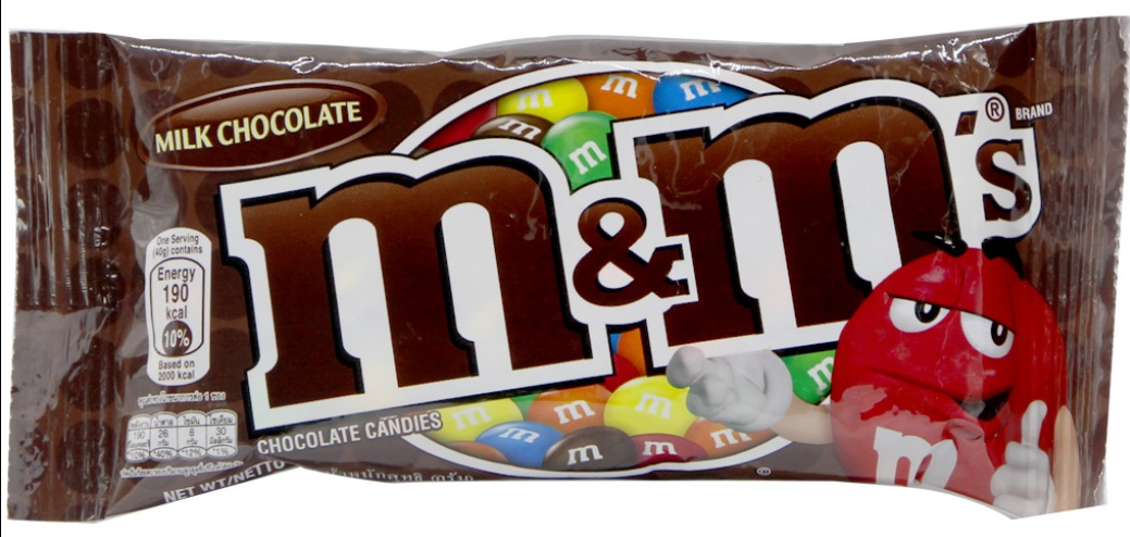 Chocolate Candy M&M Milk 40g