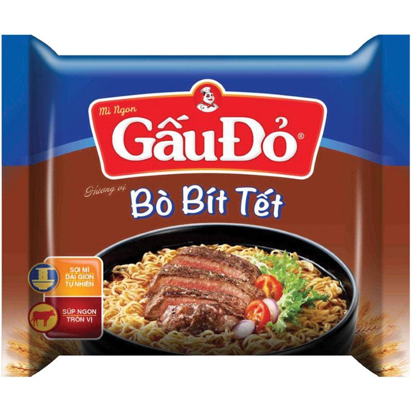 Gau Do beef steak instant noodle 65gr